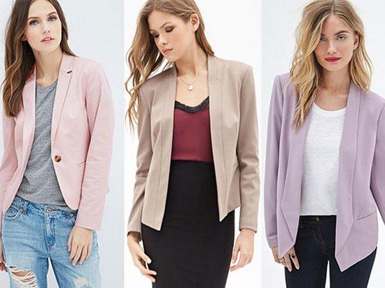Жакет или пиджак? МОДА 2019-2020
