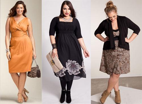 Платья больших размеров как выбрать?
