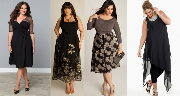 Платье батал или как одеваться при нестандартной фигуре