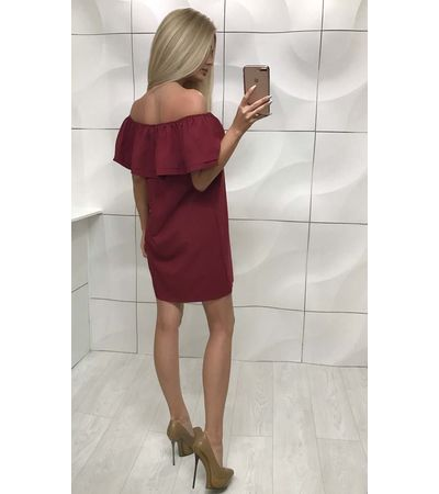 Платье Валан Плечи №253 Украина