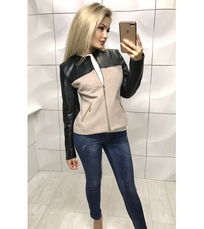 Куртка Грудь Кожа №1016 Украина
