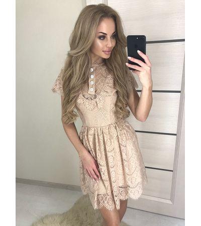 Платье Ресничка Пуговка №387 Украина