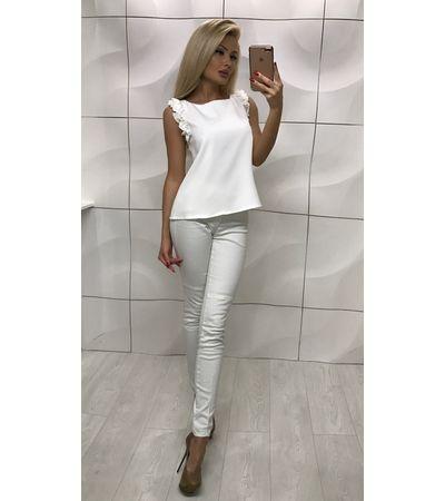 Блузка Плечо Рюш №1007 Украина