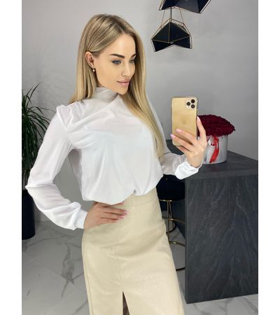 Блузка с завязкой №472 Украина