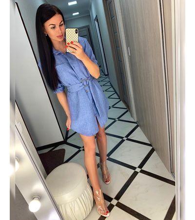Платье Косой Карман №494 Украина