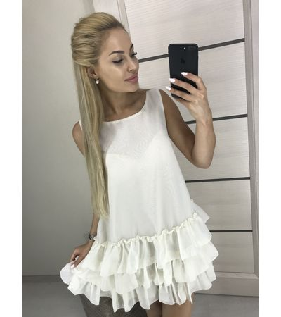 Платье ШифонНизРюш №403 Украина