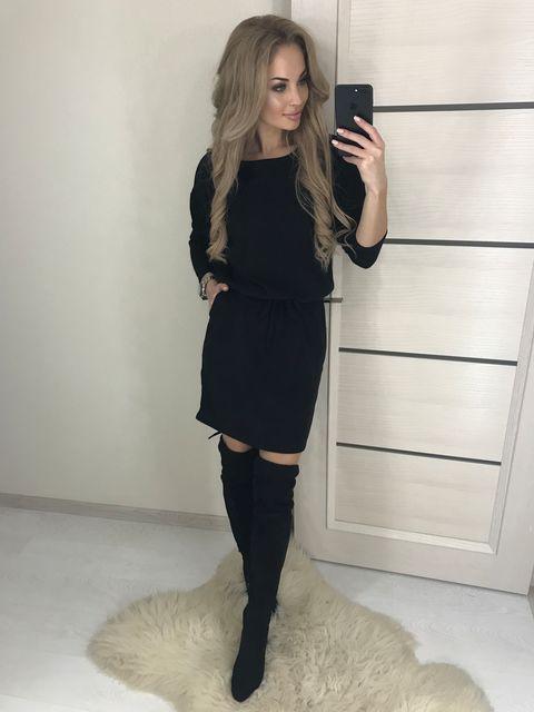 Платье Строчка Карман №386 Украина