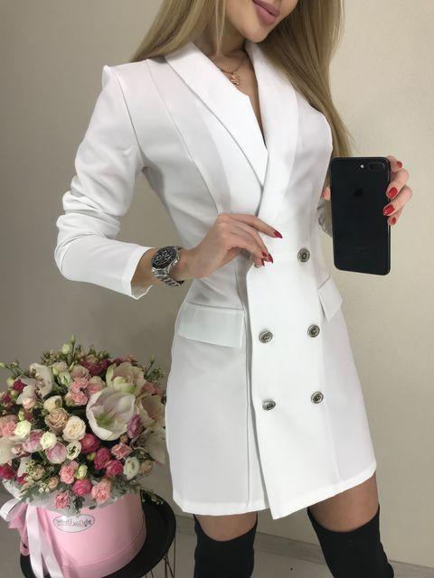 Платье Пиджак Рукав №412 Украина