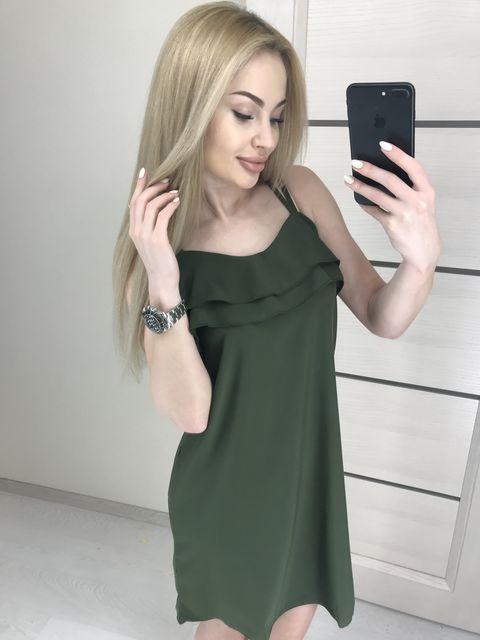 Платье Две Лямки №1011 Украина