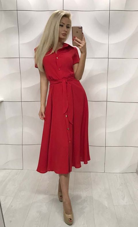 Платье Леди Пуговки №361 Украина